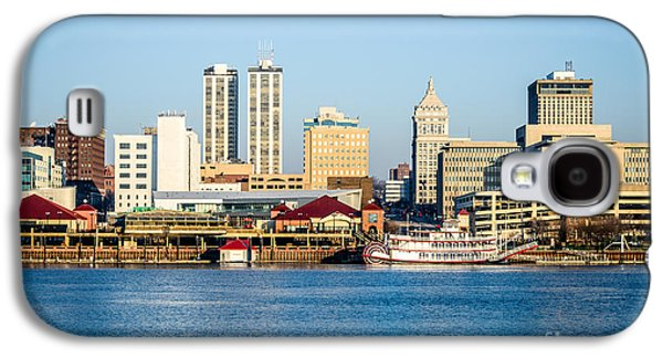 Peoria Skyline And Downtown City Buildings Galaxy S4 Case by Paul Velgos
