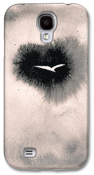 Galaxy S4 Case featuring the painting Perce-brumes by Marc Philippe Joly
