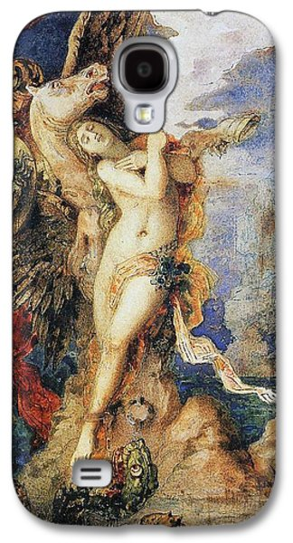 Perseus And Andromeda Galaxy S4 Case by Gustave Moreau