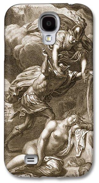 Perseus Cuts Off Medusas Head, 1731 Galaxy S4 Case
