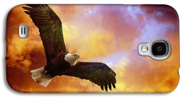 Eagle Galaxy S4 Case - Perseverance by Lois Bryan