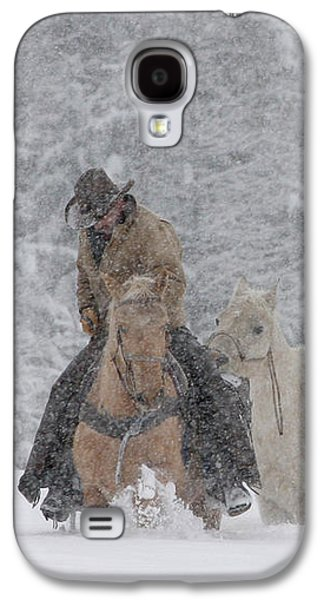 Persevere Through All Galaxy S4 Case by Diane Bohna