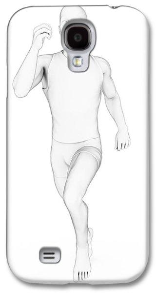 Person Jogging Galaxy S4 Case by Sebastian Kaulitzki