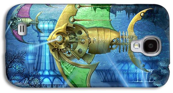 Pescatus Mechanicus Galaxy S4 Case by Ciro Marchetti