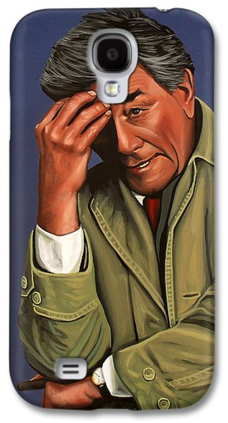 Peter Falk As Columbo Galaxy S4 Case by Paul Meijering
