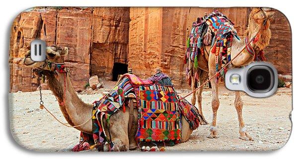 Petra Camels Galaxy S4 Case