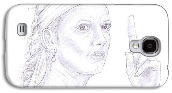 Petra Kvitova Galaxy S4 Case by Steven White
