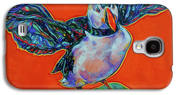 Petty Harbour Puffin Galaxy S4 Case by Derrick Higgins