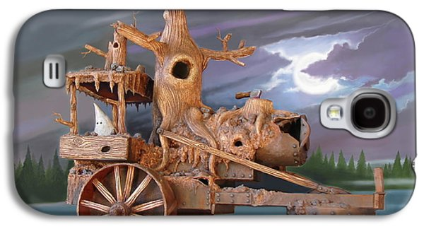 Phantom Steam Tractor Galaxy S4 Case