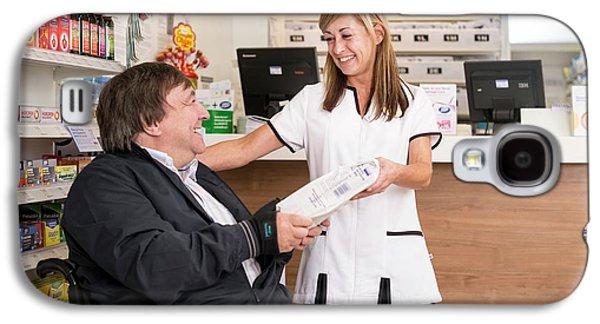 Pharmacist Dispensing Medication Galaxy S4 Case