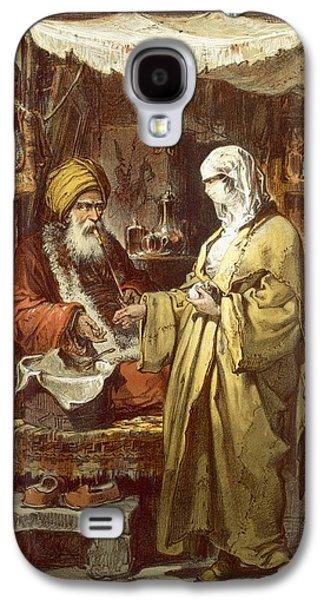 Pharmacy Or Drug Shop, 1865 Galaxy S4 Case by Amadeo Preziosi
