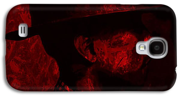 Pharrell Williams Red Galaxy S4 Case