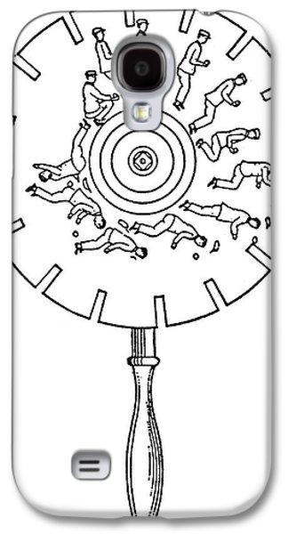 Phenakistoscope Galaxy S4 Case by Granger