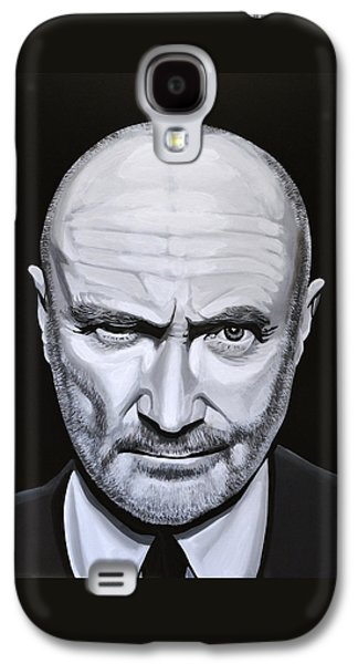 Trumpet Galaxy S4 Case - Phil Collins by Paul Meijering