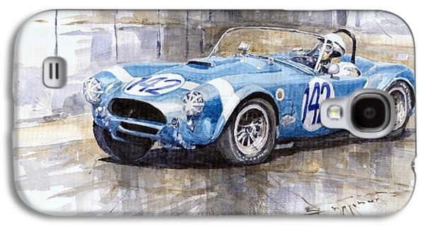 Phil Hill Ac Cobra-ford Targa Florio 1964 Galaxy S4 Case by Yuriy Shevchuk