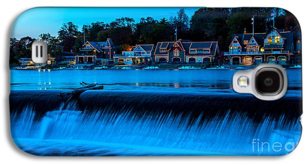 Philadelphia Boathouse Row At Sunset Galaxy S4 Case