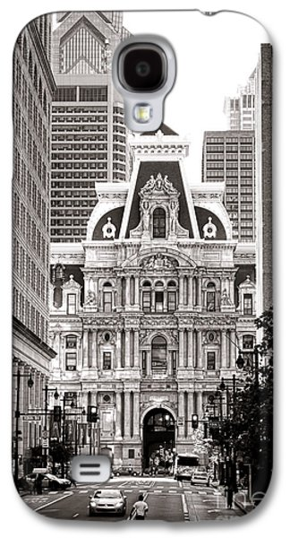 Philadelphia City Hall Galaxy S4 Case by Olivier Le Queinec