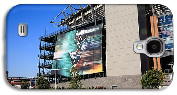 Philadelphia Eagles - Lincoln Financial Field Galaxy S4 Case by Frank Romeo