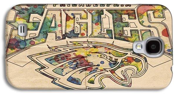 Philadelphia Eagles Poster Art Galaxy S4 Case