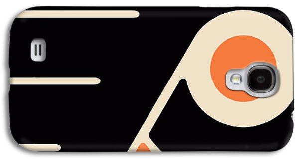 Philadelphia Flyers Size 2 Galaxy S4 Case by Tony Rubino