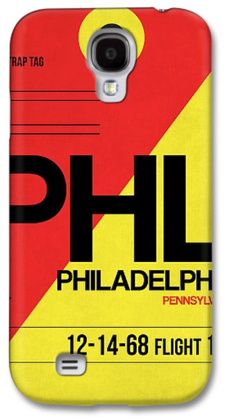 Philadelphia Luggage Poster 2 Galaxy S4 Case