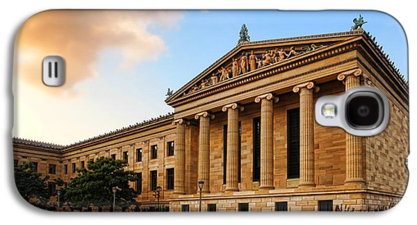Philadelphia Museum Of Art Galaxy S4 Case by Olivier Le Queinec