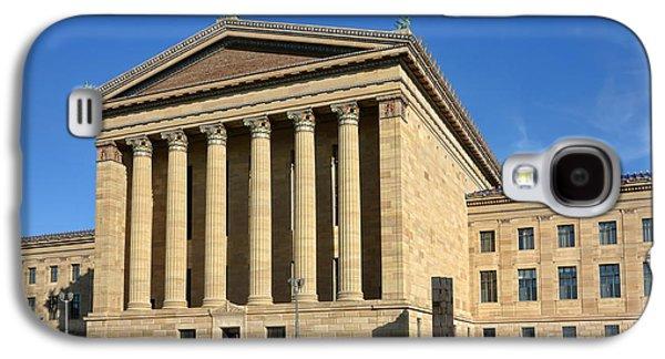 Philadelphia Museum Of Art Rear Facade Galaxy S4 Case by Olivier Le Queinec