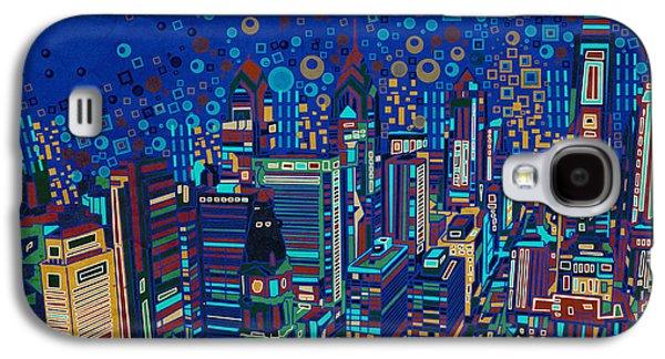 Philadelphia Panorama Pop Art 2 Galaxy S4 Case
