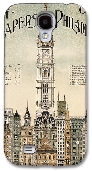 Philadelphia Skyscrapers Galaxy S4 Case