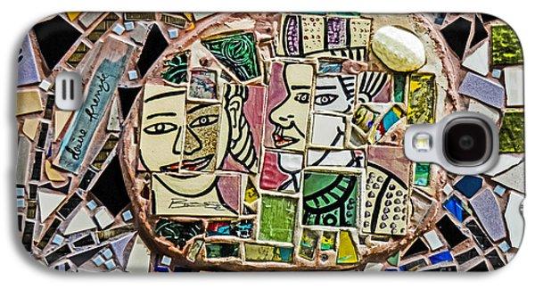 Philadelphia Tile Art Graffiti Galaxy S4 Case by Gary Keesler