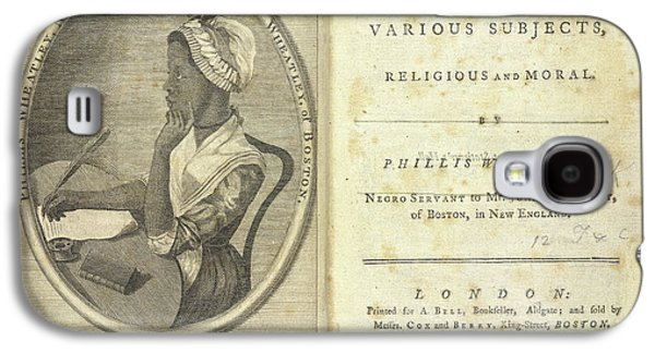 Phillis Wheatley Galaxy S4 Case by British Library