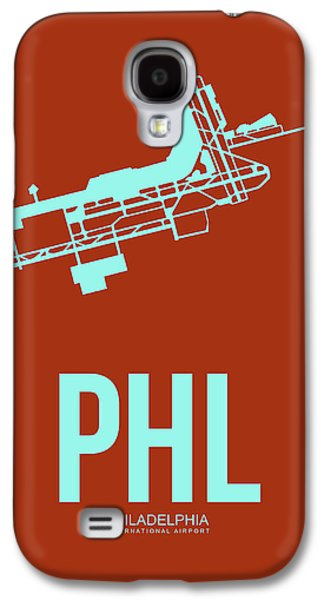 Phl Philadelphia Airport Poster 2 Galaxy S4 Case