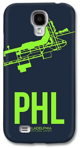 Phl Philadelphia Airport Poster 3 Galaxy S4 Case
