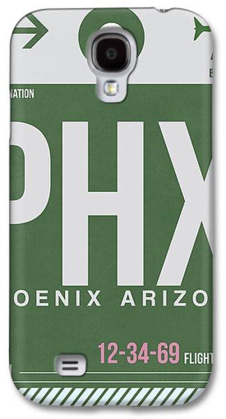 Phoenix Airport Poster 2 Galaxy S4 Case by Naxart Studio