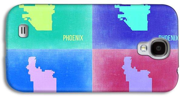 Phoenix Pop Art Map 1 Galaxy S4 Case