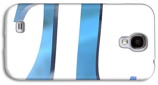 Pi Symbol Galaxy S4 Case by Alfred Pasieka