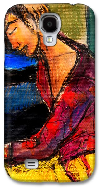 Pia #3 - Detail - Figure Series Galaxy S4 Case by Mona Edulesco