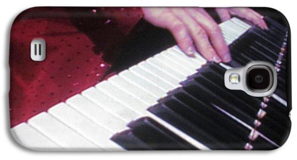 Piano Man At Work Galaxy S4 Case