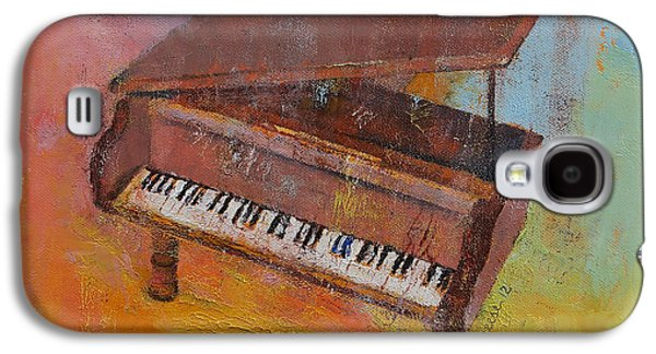 Toy Piano Galaxy S4 Case by Michael Creese