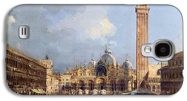 Piazza San Marco, Venice Galaxy S4 Case by Francesco Guardi