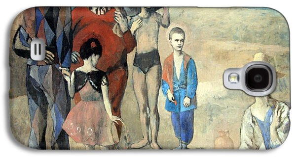 Picasso's Family Of Saltimbanques Galaxy S4 Case by Cora Wandel
