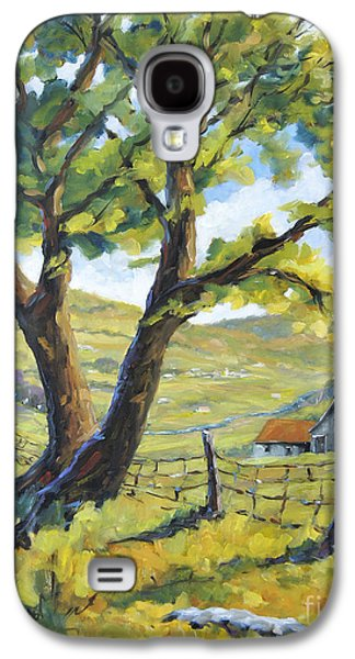 Picnic With A View By Prankearts Galaxy S4 Case by Richard T Pranke