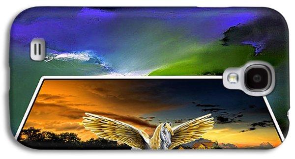 Picture A Pegasus Galaxy S4 Case