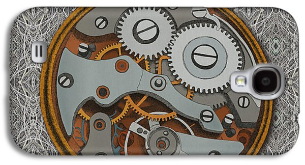Pieces Of Time Galaxy S4 Case by Meg Shearer