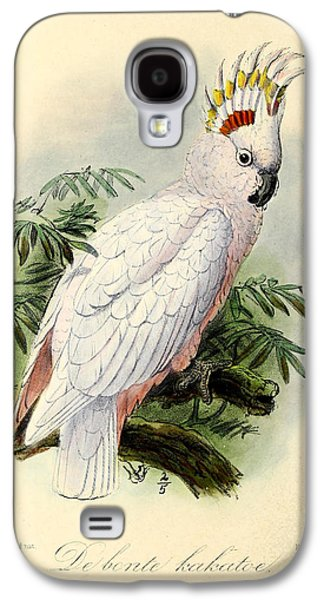 Pied Cockatoo Galaxy S4 Case by Anton Oreshkin