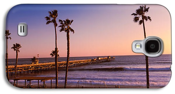 Pier In The Pacific Ocean, San Clemente Galaxy S4 Case