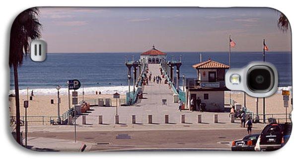 Pier Over An Ocean, Manhattan Beach Galaxy S4 Case