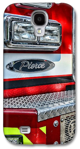 Pierce Fire Truck  Galaxy S4 Case