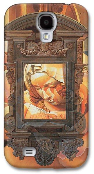 Pieta Galaxy S4 Case by Mia Tavonatti