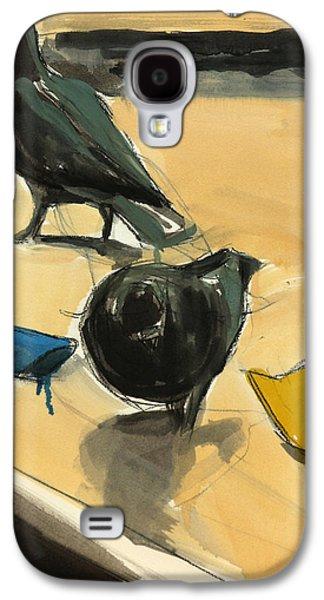 Pigeons Galaxy S4 Case by Daniel Clarke